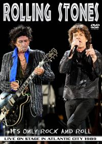 Cover The Rolling Stones - It's Only Rock And Roll - Live On Stage In Atlantic City 1989 [DVD]